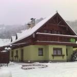Chata Katka v Zime